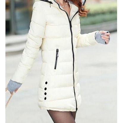 Prošívaná zimní bunda Pia - Béžová - velikost č. L - dodání do 2 dnů