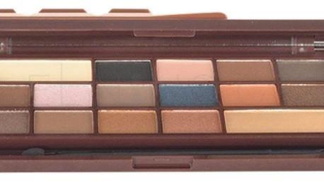 Makeup Revolution London I Heart Makeup I Heart Chocolate Caramel Palette 22 g paletka očních stínů pro ženy