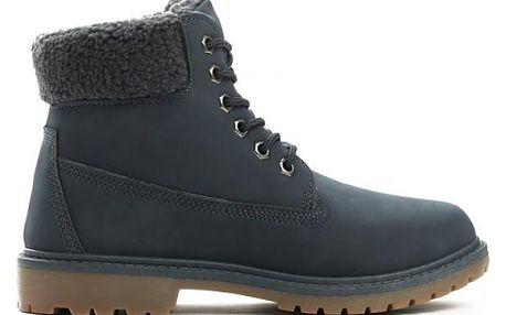 Dámské námořnicky modré kotníkové boty Danah 801