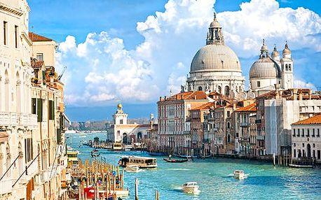Itálie - Benátky autobusem na 5 dnů, polopenze