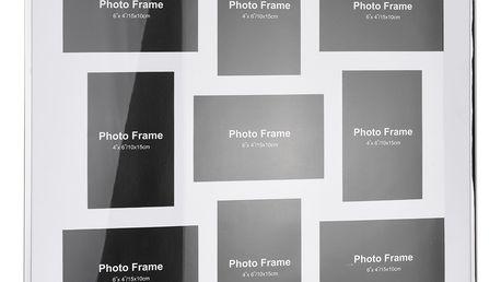 Emako Kovový rámeček pro 9 fotek