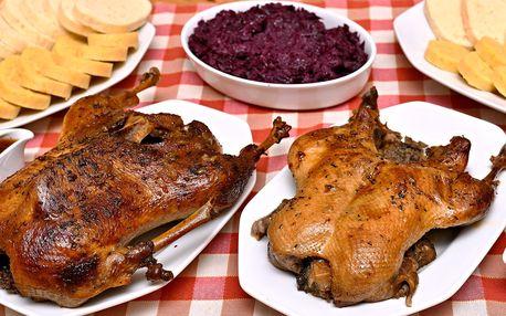 Pečínka jak z pohádky: Kachnička či husa se zelím