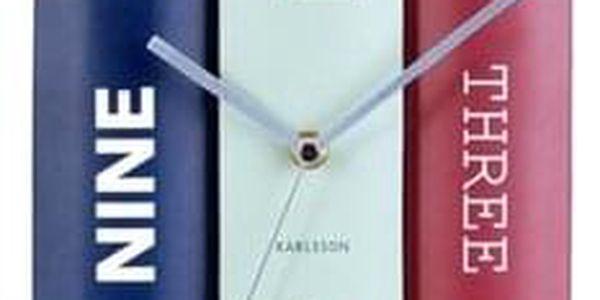 Karlsson 5629 Designové stolní hodiny, 20 cm3