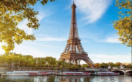 Famózní a programem nabitý 6-denní PAŘÍŽ s památkami a zámky. Zájezd s ubytováním a průvodcem.