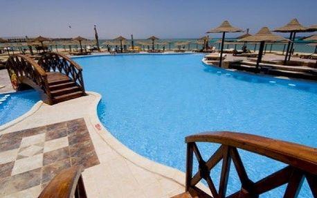 Egypt - Hurghada na 8 až 9 dní, all inclusive s dopravou letecky z Prahy nebo Brna, přímo na pláži