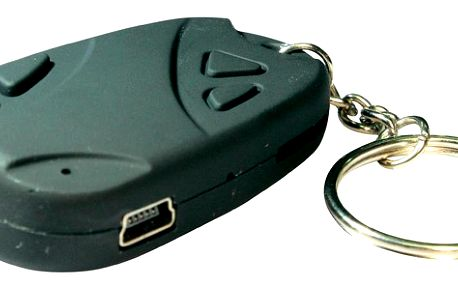 Špionská Micro kamera ve tvaru klíčenky - 720x480 ,30 fps