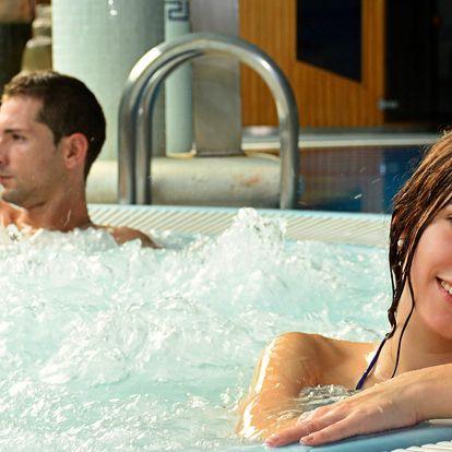 Relax ve vířivce i sauně pro dva nebo pro partu