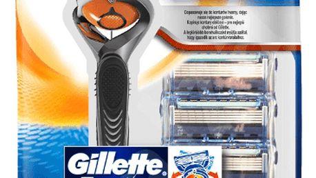 GILLETTE Flexball Fusion ProGlide holící strojek + Fusion ProGlide hlavice 4ks