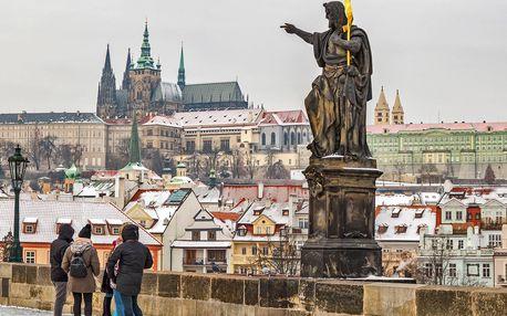 Mrazivá pražská tajemství: venkovní hra