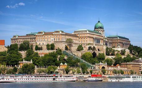 Maďarsko - Budapešť autobusem na 2 dny, snídaně v ceně