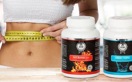 Doplňky stravy na spalování tuků i detoxikaci
