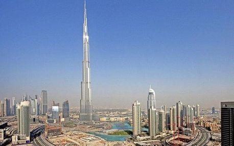 Spojené arabské emiráty - Dubai na 4 dny, polopenze nebo snídaně s dopravou letecky z Prahy, 8 km od pláže