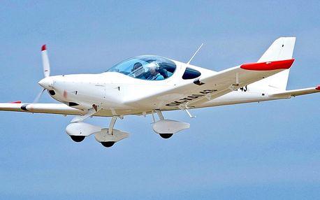 Let luxusním sportovním letadlem vč. pilotování