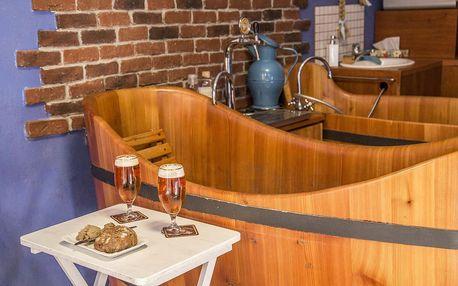 Pobyt v pivních lázních v Poděbradech s koupelí i masáží