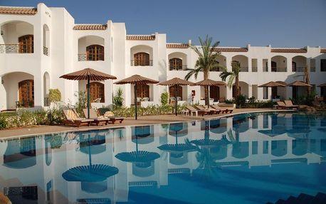Egypt - Sharm El Sheikh na 8 dní, all inclusive s dopravou letecky z Prahy, 5 km od pláže