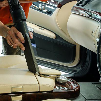 Hoďte vůz do gala: Luxování i čištění interiéru