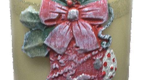 svíčka s ponožkou
