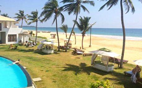 Srí Lanka, Hikkaduwa, letecky na 12 dní polopenze