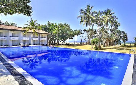 Srí Lanka, Kalutara, letecky na 13 dní snídaně