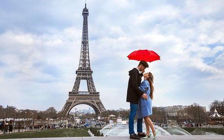 Paříž: 4denní zájezd na Valentýn s návštěvou Disneylandu