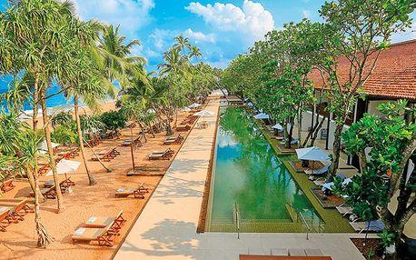 Srí Lanka, Induruwa, letecky na 12 dní snídaně