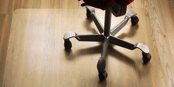 Podložka pod židli 140x100cm mléčná barva