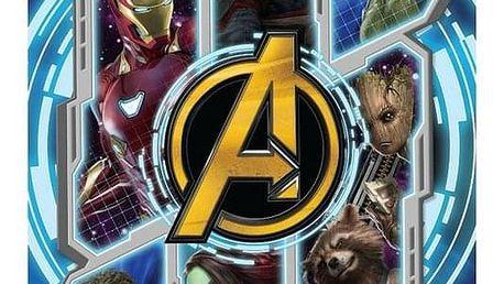 Jerry Fabrics Osuška Avengers Infinity war, 70 x 140 cm