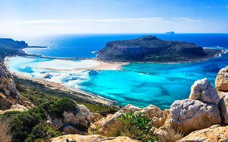 Řecko - Kréta letecky na 8 dnů, all inclusive