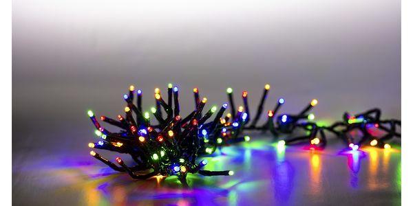 Marimex   Řetěz světelný 400 LED dvojitý - barevná   18000083