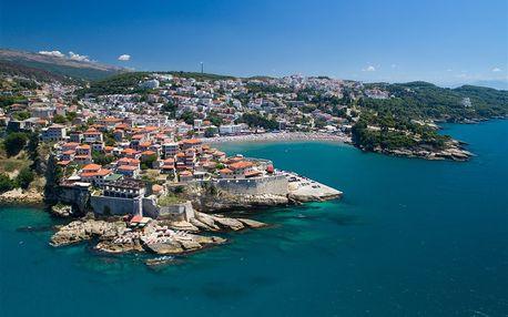 Černá Hora, Budvanská riviéra, letecky na 8 dní plná penze