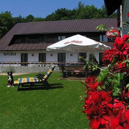 Letní prázdniny v krkonošském penzionu Vápenka s wellness v ceně pobytu!