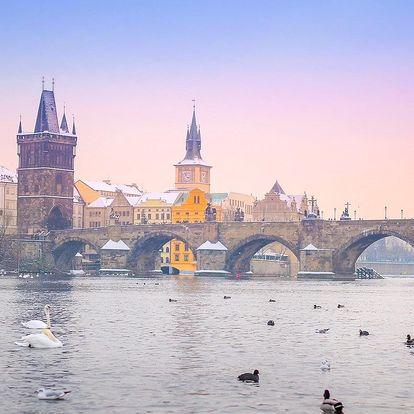 Pension Březina*** v centru Prahy se snídaní, dítě zdarma