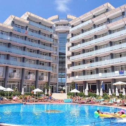 Bulharsko - Slunečné Pobřeží na 8 až 10 dní, all inclusive nebo polopenze s dopravou kombinovaná nebo letecky z Prahy, 300 m od pláže