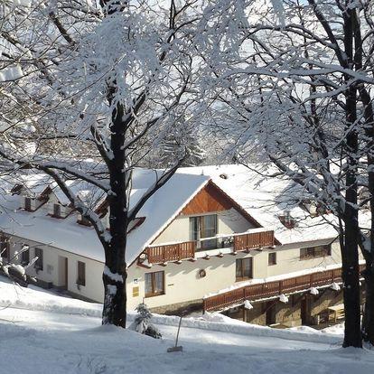 Chata Jana s wellness a masáží přímo u ski areálu v Bílých Karpatech