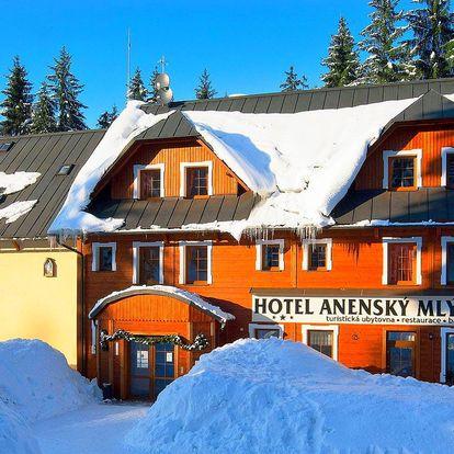 Orlické hory na lyžích: 4 dny pro 2 i 10 osob