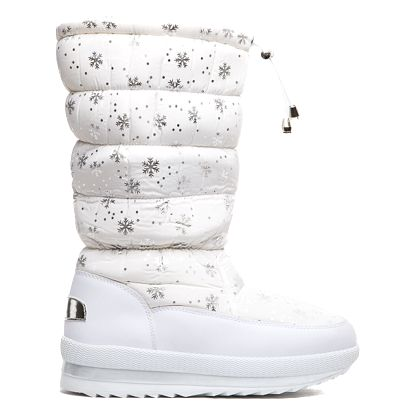 Dámské bílé sněhule Vanessa 016