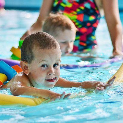Zkušební lekce plavání pro děti od 3 do 10 let