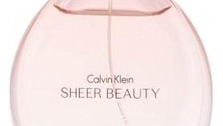 Calvin Klein Sheer Beauty 100 ml toaletní voda pro ženy