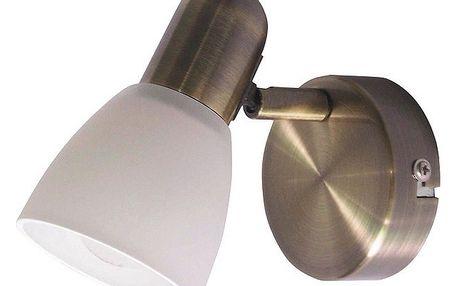 Nástěnné svítidlo Rabalux Soma 6306 bronzová/bílá