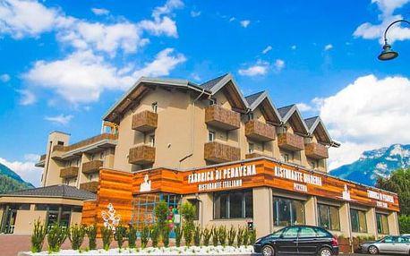 Itálie: lázeňské městečko u jezera Levico v Hotelu B612 *** se snídaní
