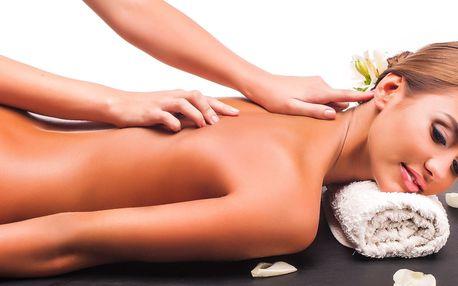 5 thajských masáží dle výběru v délce 60 min.