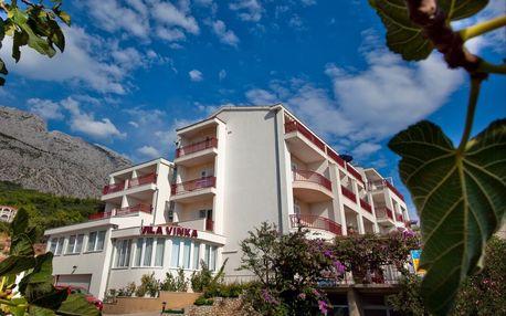 8–10denní Chorvatsko, Tučepi| Residence Aqua**** | Dítě zdarma | Parkoviště | Polopenze | Autobusem nebo vlastní doprava