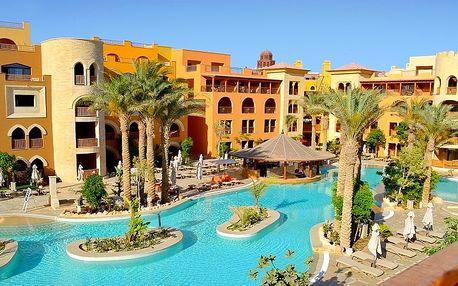 Egypt - Hurghada na 8 dní, all inclusive s dopravou letecky z Prahy, Katowic nebo drážďany, přímo na pláži