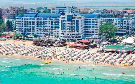 Bulharsko - Slunečné Pobřeží na 8 až 10 dní, all inclusive nebo polopenze s dopravou letecky z Katowic, 20 m od pláže