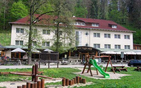 Pobyt na 2 nebo 3 noci v Hotelu Skalní mlýn v Moravském krasu