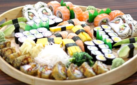 Sety ze Sushi Miomi: 48 nebo 70 čerstvých kousků