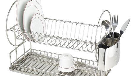 Odkapávač na nádobí, Sušák DUO EXCLUSIV - 2 úrovně, WENKO