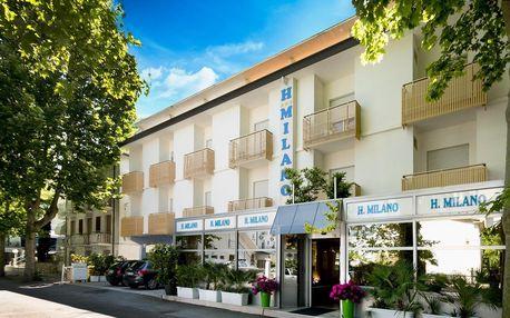 8–10denní Itálie, Emilia Romagna | Hotel Milano*** 250 m od pláže | Děti zdarma | Klimatizace | Polopenze