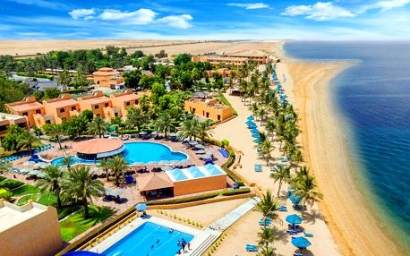 Spojené arabské emiráty - Ras Al Khaimah na 6 dní, all inclusive s dopravou letecky z Prahy, přímo na pláži