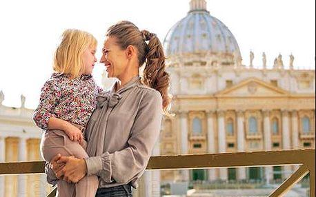 Příjemný pobyt v Římě nedaleko od Vatikánu pro dva